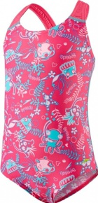 Speedo Seasquad Allover Pink/Pink