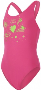 Aqua Sphere Esty Aqua First Girl Bright Pink/Bright Green
