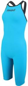 Jaked JKEEL Full Body Knee Open Back Turquoise/Black