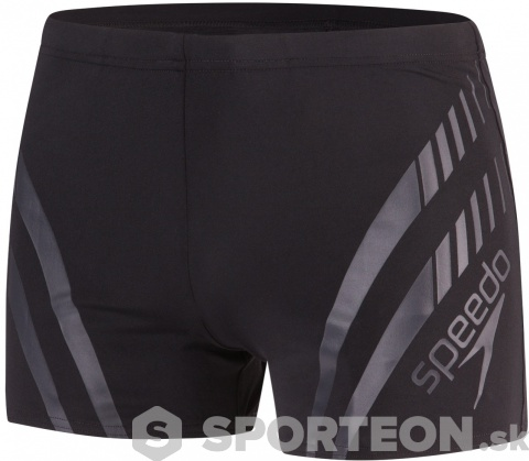 Speedo Sport Panel Aquashort Black/Oxid Grey