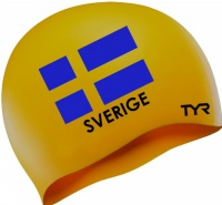 Tyr Sweden Swim Cap