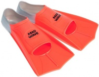 Mad Wave Short Training Fins Orange