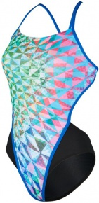 Michael Phelps Chrystal Open Back Multicolor/Black