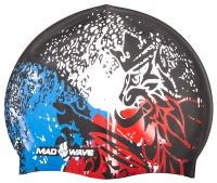 Plavecká čiapka Mad Wave Czech Silicone