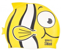 BornToSwim Fish Junior Swim Cap