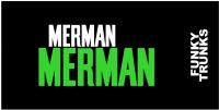 Funky Trunks Green Merman Towel