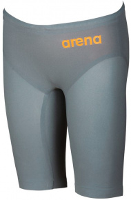 Arena Powerskin R-Evo One Jammer Junior Grey/Bright Orange