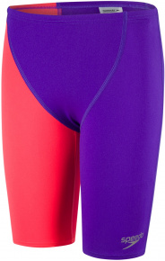 Speedo Fastskin Endurance+ High Waisted Jammer Boy Royal Purple/Psycho Red
