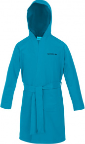 Speedo Bathrobe Microfiber Junior Blue Turquoise
