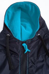 BornToSwim Parka Black/Turquoise