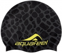 Aquafeel Black Reflection Silicone Cap