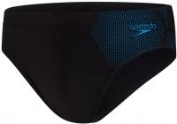 Speedo Tech Placement 7cm Brief Black/Pool