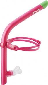Plavecký šnorchel TYR Ultralight Snorkel Pink