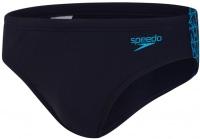 Speedo BoomStar Splice 7cm Brief True Navy/Pool