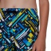 Speedo GlitchWarp Allover 15 Watershort Boy True Navy/Bondi Blue/Empire Yellow/White