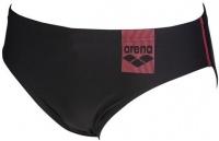 Arena Basics Brief Black/Fluo Red