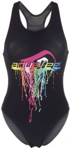 Aquafeel Watercolors Aquafeelback Girls Black/Multi