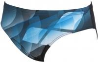 Arena Mirrors Brief Black/Turquoise