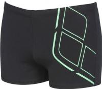 Arena Essentials Short Black/Golf Green