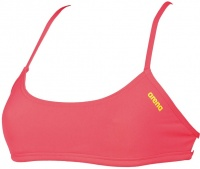 Arena Bandeau Play Fluo Red/Yellow Star