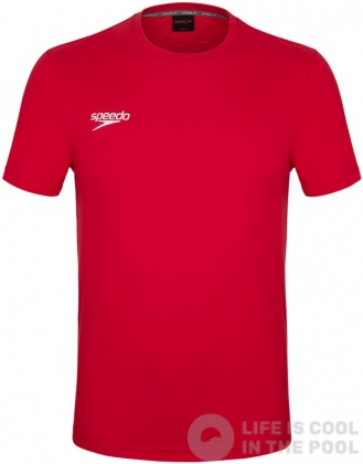 Speedo Small Logo T-Shirt Red