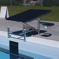 Spectrum Aquatics Record Breaker Starting Platform Single Post