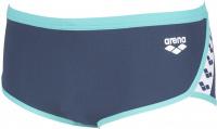 Arena Team Stripe Low Waist Short Shark/Mint