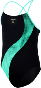 Michael Phelps Lumy Aqua First Girls Black/Turquoise