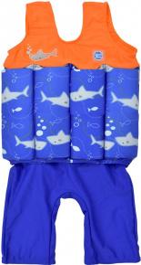 Splash About Short John Float Suit Shark Orange