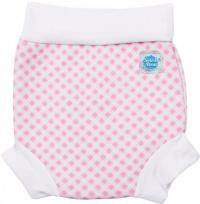 Splash About Happy Nappy Pink/White Cube