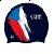 Plavecké čiapky vlajky