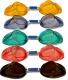 Farba očníc u plaveckých okuliarov